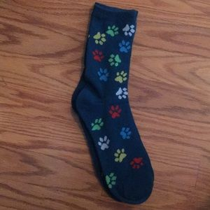 Other - Paw prints socks